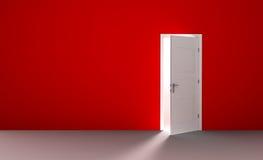 drzwi pokój pusty otwarty ilustracji