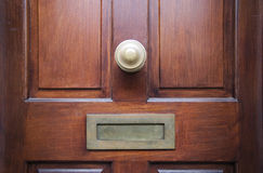 drzwi przód Fotografia Stock