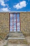 drzwi przejrzysty Obraz Stock