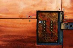 drzwi przemysłowe zdjęcie royalty free