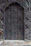 Drzwi przeszłość i teraźniejszość Obrazy Royalty Free