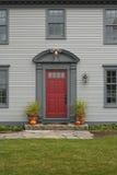 drzwi przodu dom Obraz Stock