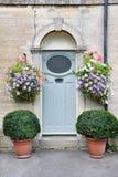 drzwi przodu dom obrazy stock