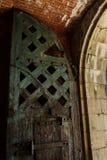 Drzwi przy fortem Pulaski Obrazy Royalty Free
