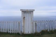 Drzwi przy końcówką świat fotografia royalty free