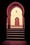 Drzwi przy końcówką Fotografia Royalty Free