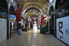 Drzwi przy Uroczystym Basar w Istanbuł, Turcja Fotografia Stock