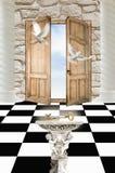 drzwi raj Obrazy Royalty Free