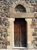 drzwi średniowieczny Zdjęcia Royalty Free