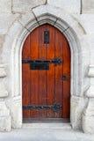 drzwi średniowieczny Fotografia Stock