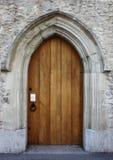 drzwi średniowieczny frontowy Fotografia Royalty Free
