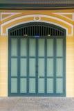 drzwi retro Zdjęcia Royalty Free