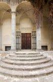 drzwi schodki obraz royalty free
