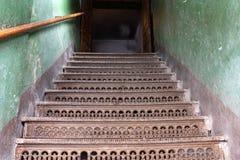 drzwi schody fotografia royalty free