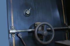 drzwi skarbca banku ochrony Fotografia Stock