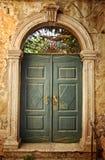 drzwi stary Zdjęcia Stock
