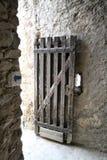 drzwi stary Obrazy Royalty Free