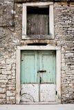 drzwi stary Zdjęcia Royalty Free