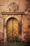 drzwi stary fotografia stock