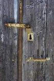 drzwi stary Obraz Royalty Free