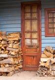 drzwi stary domowy Fotografia Royalty Free