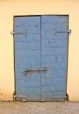 drzwi stary żelazny Fotografia Royalty Free