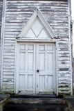 Drzwi stary kościół obraz royalty free