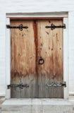 drzwi starzy obraz stock