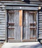 drzwi stodoły Obrazy Royalty Free