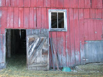 drzwi stodoły Obraz Royalty Free