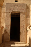 drzwi szereg Egiptu Zdjęcie Royalty Free