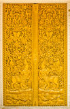 drzwi tajlandzki stylowy świątynny Zdjęcia Stock