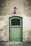 drzwi toalety stara Fotografia Stock