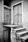 drzwi trzy Obrazy Royalty Free