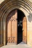 Drzwi urząd miasta Obrazy Stock