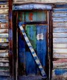 drzwi w budynku Obrazy Royalty Free