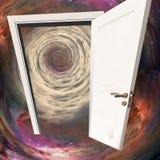 Drzwi w czasie obrazy stock