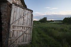 Drzwi w lato Obrazy Stock