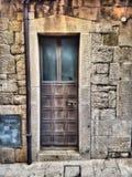 Drzwi w mistyczki świetle Obraz Royalty Free