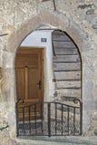 Drzwi w Saorge fotografia royalty free