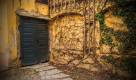 Drzwi w Zagreb zdjęcie royalty free