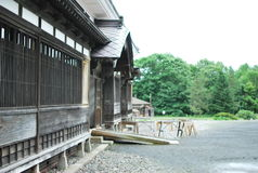 drzwi wejścia domu japończyk Fotografia Stock