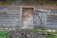 drzwi wejścia przodu dom odnosić sie Obrazy Royalty Free