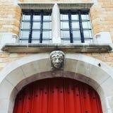 drzwi wejścia przodu dom odnosić sie Obraz Stock
