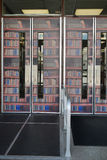 Drzwi świat czytanie Zdjęcia Royalty Free