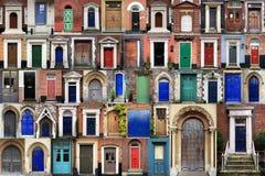 drzwi złożony przód obraz royalty free