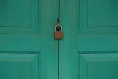 Drzwi z kędziorkiem Zdjęcia Stock