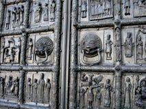Drzwi z ulgą Zdjęcie Stock