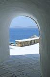 Drzwi Z widokiem Obraz Stock