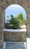Drzwi Z widokiem Obrazy Royalty Free